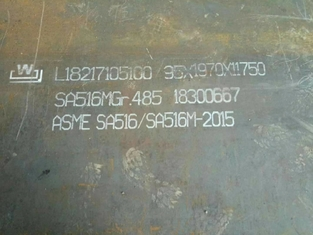 ASTM A516 Gr70 Bolier Steel Plate ASME SA516 Grade 70 Carbon Steel Plate